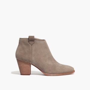The Billie Boot in Suede : AllProducts | Madewell