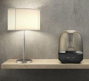 $139.99Harman Kardon Aura Black Wireless Stereo Speaker System (Recertified)