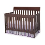 Delta Children Remi 4-in-1 Crib, Chocolate
