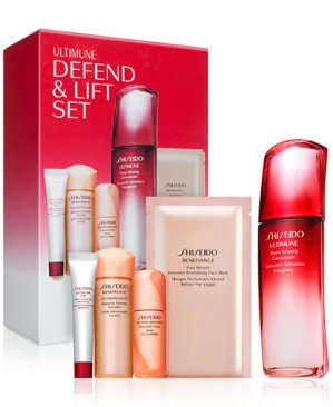 Only $125 Shiseido Ultimune Defend & Lift 5-Pc. Set @ macys.com