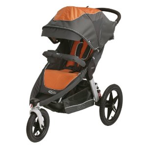 Graco Relay Click Connect Jogging Stroller, Tangerine