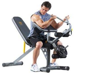 $120Gold's Gym XRS 20 健身器材