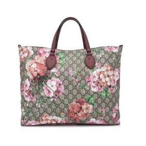 Gucci Soft GG Supreme Blooms Tote Bag