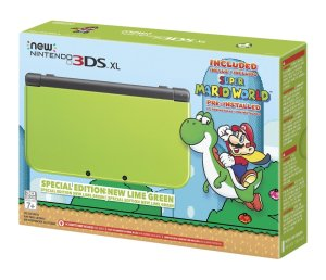 $199.99 Nintendo New 3DS XL Special Edition: Lime Green