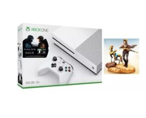 $263 Xbox One S 500GB Console + Halo Collection Bundle + ReCore CE