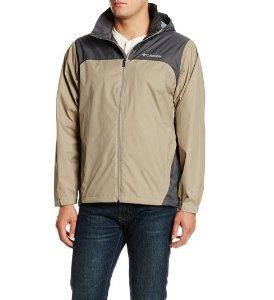 Columbia Men's Glennaker Lake Front-Zip Rain Jacket