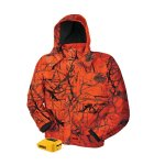 DEWALT Unisex Large Blaze Camo True Timber 20-Volt/12-Volt MAX Heated Jacket