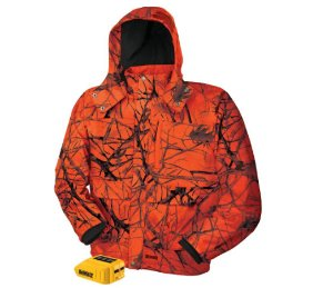 $69DEWALT Unisex Large Blaze Camo True Timber 20-Volt/12-Volt MAX Heated Jacket