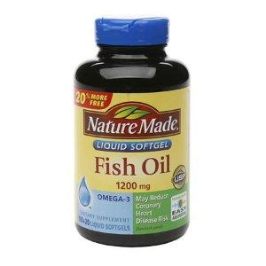 Nature Made Fish Oil, 1200mg, Liquid Softgels | Walgreens