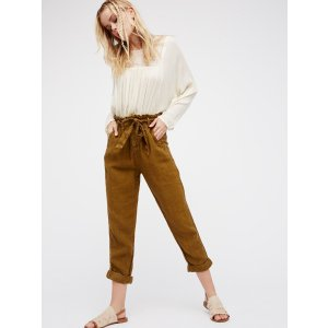 Like This Paper Bag Pant at Free People Clothing Boutique