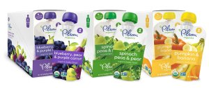 Plum Organics Second Blends Baby Food,18-Pack 4oz
