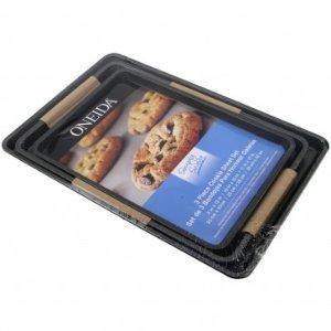 Oneida Simply Sweet 3pc Cookie Baking Sheet Set