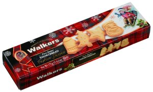 Walkers Shortbread Festive Shapes, 6.2-Ounce Boxes (Pack of 4)