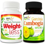 Weight Management Bundle [GMP Vitas® Weight Less, GMP Vitas® Garcinia Cambogia)