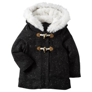 Baby Girl Wool Parka   Carters.com