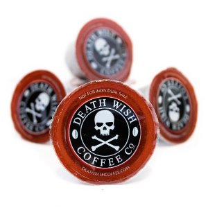 Lighning Deal Death Wish Coffee Single Serve Capsules for Keurig K-Cup Brewers, 10 Count