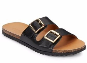 Kenneth Cole REACTION Faux Leather Sandals @ Saks Off 5th