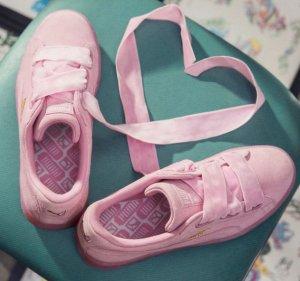 $80Puma Suede Heart Reset Women's Sneakers