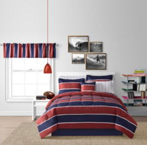 Up to 63% Off + Extra 25% Off 8-Piece Bedding Ensemble @ JCPenney