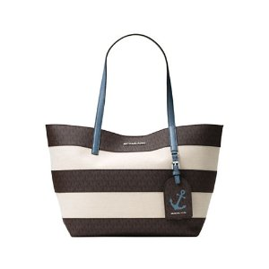 Two-Tone Canvas Tote