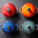 Le Creuset Signature Enameled Cast-Iron 1-Quart Round French (Dutch) Oven