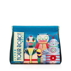 YOUR ROBOT MAGGIE|CLUTCH BAG|Charlotte Olympia HANDBAGS