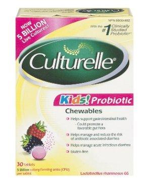Culturelle Kids 儿童益生菌咀嚼片 30片