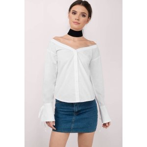 Lay It Down White Shirt