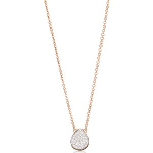 Alma Necklace in 18ct Rose Gold Vermeil on Sterling Silver with Diamond | Jewellery by Monica Vinader