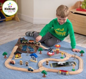 $34.95 KidKraft Bucket Top Mountain Train Set