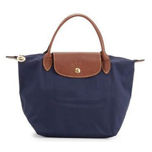 Longchamp Le Pliage Small Handbag, New Navy