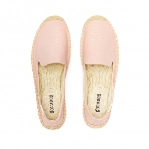 Soludos Blossom Pink Platform Smoking Slipper for Women - Soludos Espadrilles