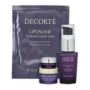 COSME-DE.COM | COSME DECORTE Moisture Liposome 4-Piece Mini Skincare Set