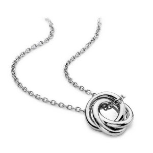 Infinity Love Knot Pendant in Sterling Silver | Blue Nile