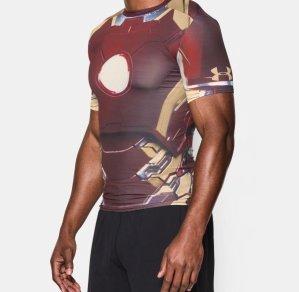 Under Armour® Alter Ego Iron Man Compression Shirt @ Under Armour