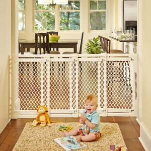 North States Supergate Extra-Wide Gate, Ivory