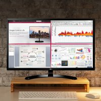 $199.99 LG 32MA68HY-P 32-Inch IPS Monitor with Display Port and HDMI Inputs