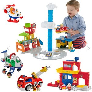 BOGO 30% Off + 20% Off + Free Shipping Little People Toys @ Fisher Price