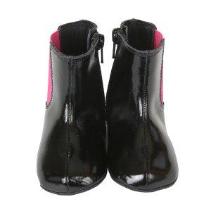 Adelynn Mini Shoez Baby Boots, Black   Robeez