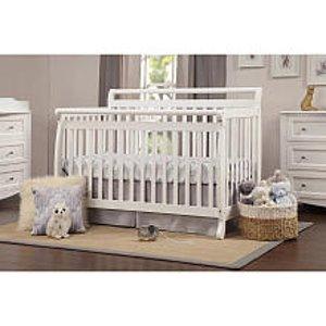 DaVinci Emily 4-in-1 Convertible Crib - White - DaVinci - Babies