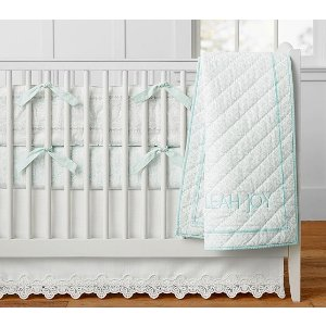 Organic Malibu Chic Baby Bedding | Pottery Barn Kids