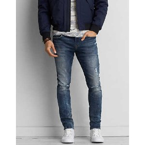 AEO 360 Extreme Flex Skinny Jean, Medium Wash | American Eagle Outfitters