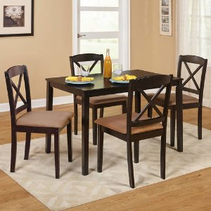 Mason 5-Piece Cross Back Dining Set, Multiple Colors - Walmart.com
