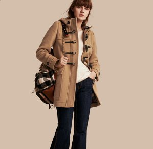 Up to $275 Off Burberry Wool Coat @ Saks Fifth Avenue