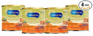 $47.15 Enfagrow Toddler Transitions Infant and Toddler Formula - 20 oz Powder Can (4 pk) @ Amazon