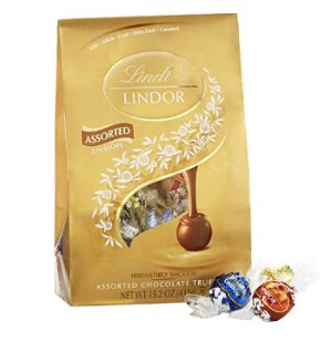 $8.4 Lindor Lindt Chocolate Truffles, Assorted, 15.2 Ounce