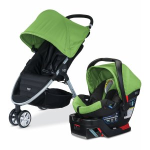 Britax B-agile 3 & B-Safe 35 Travel System - Meadow