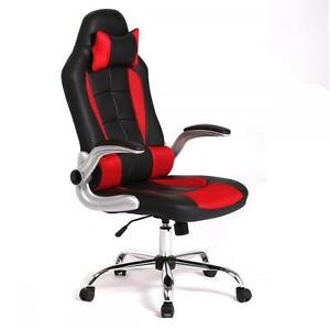 New High Back Race Car Style Bucket Seat Office Desk Chair Gaming Chair C55