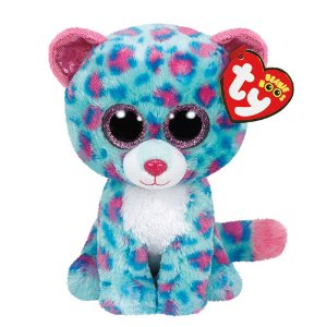 TY Beanie Boo Medium Sydney the Leopard Plush Toy | Claire's