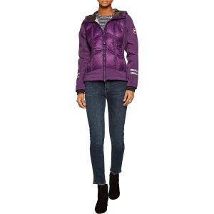 Hybridge jersey-paneled quilted shell hooded down jacket | Canada Goose | US | THE OUTNET
